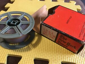 Microfilm Reel 126 New York Times 21st-30th June 1941 Safety Film