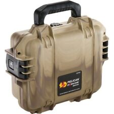 Pelican Storm 1200 IM2050 Tan camo swirl Case with Foam +FREE engraved nameplate