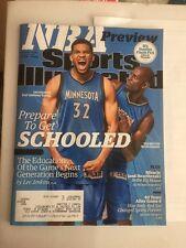 Sports Illustrated Magazine October 26 2015 Nba Minnesota Garnett Towns
