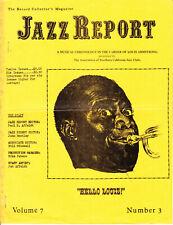 Jazz Report Magazine ~ Volume 7 #3 - 1970