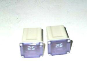 ( 2 Pieces ) Bussmann FMX25LP Fuses