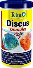 Tetra Discus Granules | Complete Food for Mid-Water and Bottom Fish | 300g Tub