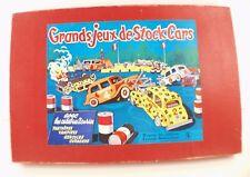 La Tour Saint Denis France Grands Jeux de Stock Cars Jeu de société boite ancien