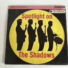 """Spotlight On The Shadows The Frightened City 45rpm EP UK 7"""" + Pic. Sleeve 1962"""