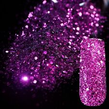 TOO BRANDED  Pre Mix Acrylic POWDER  &Glitter Cadbury Purple 5g 🇬🇧💅