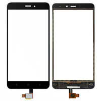 """Black Front Touch Screen Digitizer Glass Repair For Xiaomi Redmi Note 4 5.5"""""""