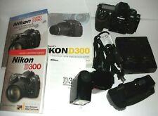 - Nikon D300 12.3MP Digital SLR Camera Body PLUS SB-700 RRS Charger Batteries -