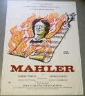 Affiche de cinéma : MAHLER de Ken RUSSELL