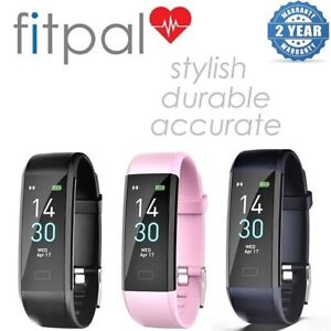 Fitpal Fitness Tracker Smart Watch Sport Step Counter Activity Heart Rate Fitbit