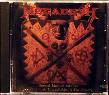 Previously Unavailable in The US by Megadeth (CD, 1997 Capitol) PROMO