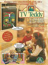 X7967 TV Teddy - Giochi Preziosi - Pubblicità 1994 - Vintage advertising