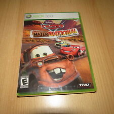 Disney Pixar Cars Mater National Championship Xbox 360 NEU VERSIEGELT NTSC