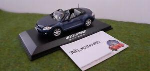 MITSUBISHI ECLIPSE SPIDER cabriolet 1/43 NOREV 800167 voiture miniature collecti