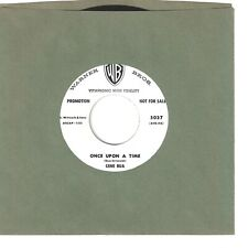 GENE BUA  teen rocker 45  Once Upon A Time / Unchained Melody  (promo) - NM
