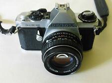 Pentax ME SUPER 35mm RULLINO FOTOGRAFICO - 50mm 1:1.7 LENS-Hoya Filtro, SUNPAK Flash