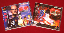 *Complete* PS1 Games TEKKEN 2 + 3 NTSC-J Japan Import PlayStation