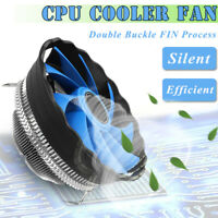 CPU Quiet Fan Cooling Heatsink Cooler Radiator For Intel LGA775/1155 AMD