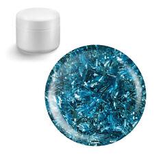 Glitzergel Farbgel Colorgel Sticky Style Glitter UV Gel 5ml Farbe 11 Hellblau