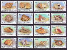 Montserrat 1988 SC 681-969 MNH Set Shell