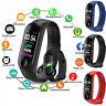 M3s Smart Band Watch Bracelet Wristband Fitness Tracker Blood Pressure HeartRate