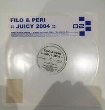 "Filo & Peri - Juicy 2004 Classic Trance 12"" Vinyl Top Condition Midway Records"