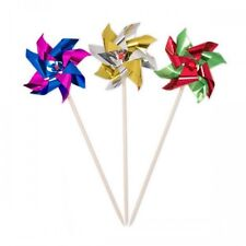 Cocktail Sticks Picks to party Windmills Assorted Colours 15cm 2 packs