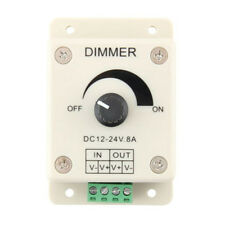 12V 8A PIR Sensor LED Strip Light Switch Dimmer Brightness Adjustable Controller