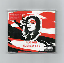 MADONNA - AMERICAN LIFE CD SINGLE (RED COVER)