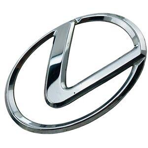 2002 2003 2004 Lexus ES300 Emblem Logo Symbol Badge Trunk Lid Rear Chrome OEM