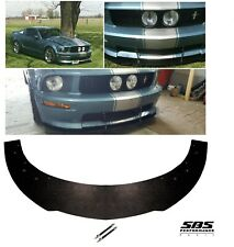 FRONT SPLITTER +2 SUPPORT RODS for 2005-2009 MUSTANG GTs, C/S GTs & Shelby GTs