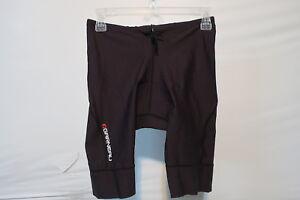 Louis Garneau Tri Power Lazer Triathlon Shorts Men's XL Black Retail $89.99