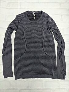 Lululemon Workout Running Swiftly Tech Pullover in Purple Size 8 ++GREAT++