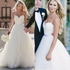 029New White/ivory  Wedding dress Bridal Gown custom size 2 4 6 8 10 12 +++