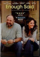 NEW DVD Enough Said: Louis-Dreyfus Gandolfini Keener Toni Collette Ben Falcone