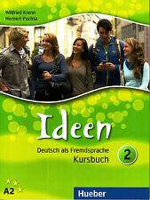 Hueber IDEEN Deutsch als Fremdsprache KURSBUCH 2 / A2 @BRAND NEW@ German
