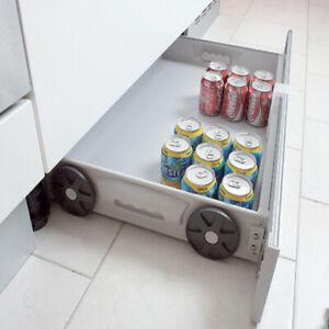 Kit para cajón de zócalo sistema montado sobre ruedas