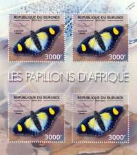 The BUTTERFLIES Of Africa / Insect Stamp Sheet #13 of 14 (2012 Burundi)