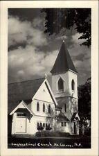 North Conway NH Cong Church Real Photo Postcard
