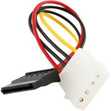 IDE/Molex 4-Pin Male To Serial ATA SATA 15-Pin Female Power Adapter Cable