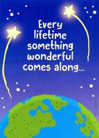 Oatmeal Studios Shooting Stars Over Earth Funny 90th Birthday Card