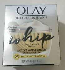 New Olay Total Effects Whip Active Moisturizer  SPF 25 Exp 1/21