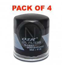 OSAKA Oil Filter Z418 - FOR Toyota Hiace Camry Hiace Hilux LANDCRUISER BOX OF 4