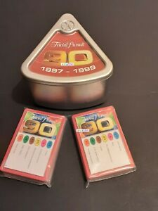TRIVIAL PURSUIT 90s EDITION 50 QUESTION CARDS 1997-1999  - ICE BREAKERS PUB QUIZ