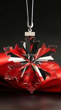 SWAROVSKI CRYSTAL CHRISTMAS 2014 LARGE CLEAR ORNAMENT 5059026 MINT BOXED RETIRED