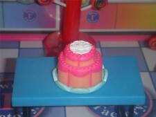 Barbie 2 Layer Orange Cake Icing for Fisher Price Loving Family Dollhouse Dolls