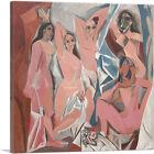 ARTCANVAS Les Demoiselles d'Avignon 1907 Canvas Art Print by Pablo Picasso