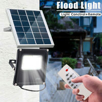 140LED 100W Super Bright Solar Flood Light Outdoor Garden Security Lamp W Remote