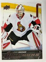 2015-16 UD Young Guns Rookie Chris Driedger