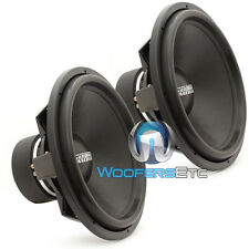 "(2) SUNDOWN AUDIO SA-18 REV3 D4 18"" 1500W RMS DVC 4-OHM SUBWOOFERS BASS SPEAKERS"