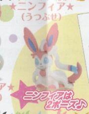 Tomy Pokemon BW Eevee Ippai Collection Figure gashapon Sylveon Lying